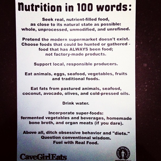 Nutrition100words_StevePaleoGoods