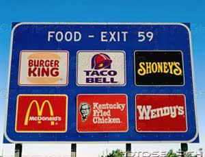 Fast-Food-Billboard